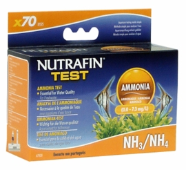 Ammonia (0.0-7.3 mg/l) for Freshwater, 70 tests