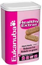 Eukanuba Healthy Extras Adult Reduced Fat Biscuits 12 oz.