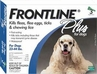 Frontline Plus for Dogs 23-44lbs 3 or 6 Month Supply BLUE