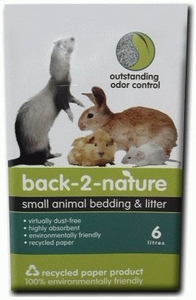 Back-2-Nature Small Animal Litter 30 liter Bag