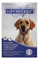 Advantage for Dogs 55 lbs and Up 4 Month Supply BLUE