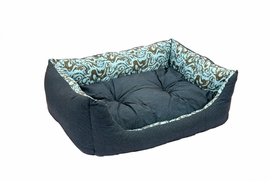 Lila Pattern Sofa Bed Puppy