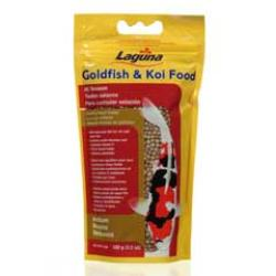 Hagen Goldfish / Koi Floating Food Medium Pellet 3.5 oz Pt11