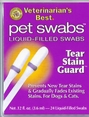 Veterinarian's Best Tear Stain Guard Pet Swabs