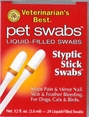 Veterinarian's Best Styptic Stick Pet Swabs