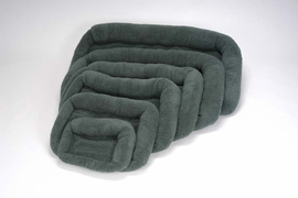 PoochPlus� Corner Bolster Bed - Hunter Green 25 X 20 Inch