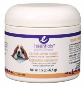Essentials Styptic Powder for dogs, 1.5 oz.