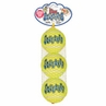 Kong Air Kong� Squeaker Tennis Balls Medium 3pk