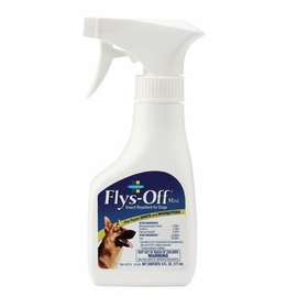 Flys Off Lotion Insect Repellent for Dogs 6 oz Pump Spray Bottle by Farnam