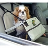 Kyjen Outward Hound Deluxe Pet Lookout Car Booster Seat Gray