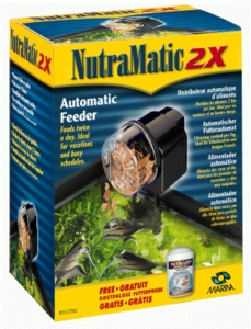 (A780) Nutrafin Nutramatic II Fish Food Feeder