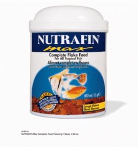 Nutrafin Max Complete Food Large Flakes, 2.65 oz.