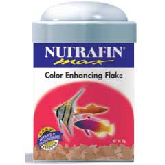 Nutrafin Max Color Enhancing Flake Food, 2.12 oz.