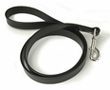 "Town Lead Leather Dog Leash 1/2"" x 48"" Bolt Snap Black by Auburn Leathercrafters"