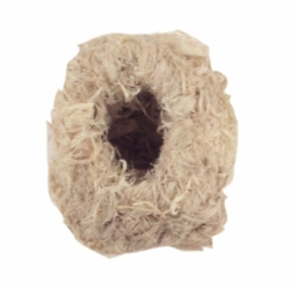 "(B1996) Living World Hemp Finch Nest, Medium, 4"" x 4"""