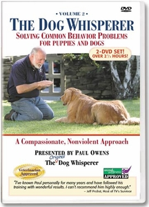 """The Dog Whisperer """"Solving Common Behavior Problems for Puppies and Dogs"""" DVD Vol. 2"""