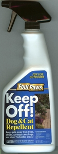 Keep Off! 24oz Spray Bottle for Outdoor Use by Four Paws