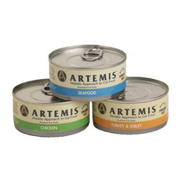 Artemis Fresh Mix Turkey & Giblet Cat Can 24/5.5oz