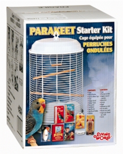 (B2925) Living World Parakeet Starter Kit