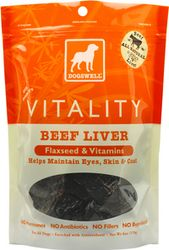 Dogswell Vitality Beef Liver dog treat 15oz Bag