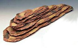Deco Replicas Large Brown Shale Ledge 15