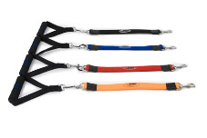 Fab 4 Pets Big Dog Control Leash / T-Bone Handle-Orange