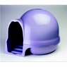 Aspen Dome Clean Step Litter Box, Iris