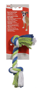 Dogit Striped Cotton Rope Bone, Medium