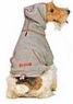 Fashion Pet Dog Thermal Hoodie Large Grey