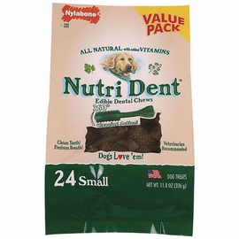 Nutri Dent Brush Bone 24 Pack - Small