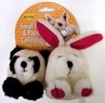 Aspen Squatter Panda Rabbit Dog Toy