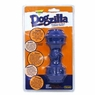 Aspen Dogzilla Dumbbell Dog Toy, Large- Blue
