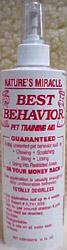Nature's Miracle Best Behavior Training Aid Spray 16 oz.