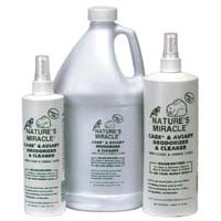 Nature's Miracle Cage & Aviary Deodorizer & Cleaner Spray 16 oz
