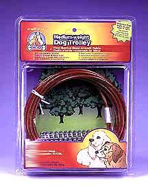 15 Foot Medium Weight Tie Out Cable