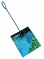"(A1276) Marina 6"" Blue Fine Nylon Net w/12"" Handle"