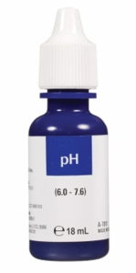pH Low Range Reagent Refill, 18 ml.