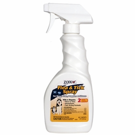Zodiac Power Spray Flea & Tick Spray For Dogs & Cats