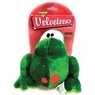 Aspen Velveteen Spot Frog Dog Toy- Medium