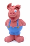 Farm-Friends  Pig - Pink Latex Fiber Filled Dog Toy