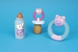 Puppy Polyester Filled Latex Toy - Baby Bottle