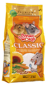 (61130) Living World Premium Rat/Mouse Mix, 2 lbs., standup zipper bag