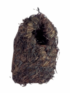 "(B1982) Living World Grass Finch Nest, Large, 6"" x 5"""