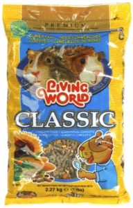 Living World Premium Guinea Pig Mix, 5 lbs