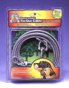 15 Foot Heavy Weight Tie Out Cable