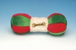 Curly Dumbbell - 9 Inch Fleece and Plush Plush Toy