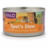Halo Spots Stew For Cats Homestyle Beef and Chicken Recipe Canned Cat Food 12 - 3 oz Cans