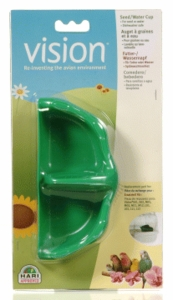 Vision Green Food/Water Dish, suitable for models S01/02, M01/02/11/12 & L01/02/11/12