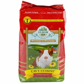 Oxbow Pet Products Cavy Cuisine 5 Lb Bag