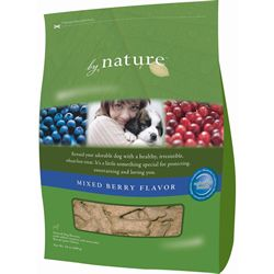 By Nature Natural Mixed Berry Flavor Dog Biscuits 24-oz bag